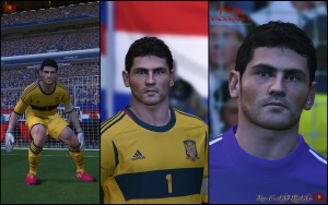 Download PES 2014 Iker CASILLAS (v.02) by K0H