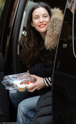 Liv Tyler - out in NY 12/13/13