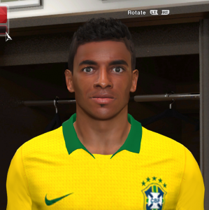 Download Luiz Gustavo PES14 Face by Eliel Facemaker