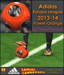Download PES 2014 Adidas Europa League 2013-14