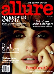 Penelope Cruz - Allure Magazine January 2014