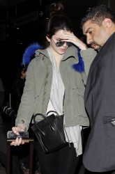 Kendall Jenner - Leaving LAX Aiport 12/15/13