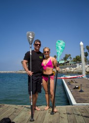 Shawn Johnson Wearing a Bikini in Redondo Beach on May 23, 2012