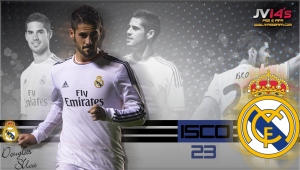 Start Screen PES 2013 - Player Isco - by Ghost7