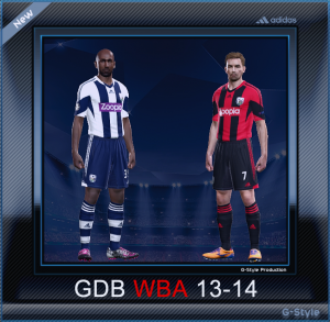 PES 2014 West Bromwich Albion F.C. 2014 GDB by G-Style