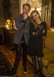Jessica Chastain - 2013 Audi Celebrates the Holidays & Snow Polo in Aspen 12/21/13