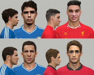 Download PES2014 Facepack vol.2 By NazhoPalma