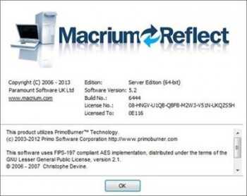 Macrium Reflect Server 5.2.6444 (x86x64)