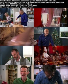 BBC - Food and Drink Christmas Special (2013) HDTV 720p AAC x264 - C4TV