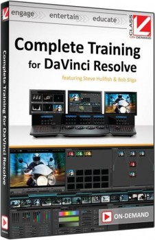Class On Demand - Complete Training for DaVinci Resolve