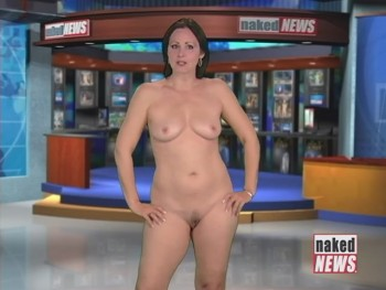 Naked News Victoria Sinclair Pussy