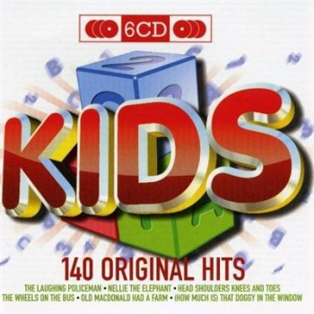VA - Kids 140 Original Hits (6CD) (2009)
