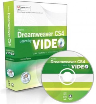 Adobe Press - Learn Adobe Dreamweaver CS4 by Video Core Training in Web Communication
