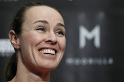 Martina Hingis - 2014 Moorilla Hobart International press conference 1/4/14