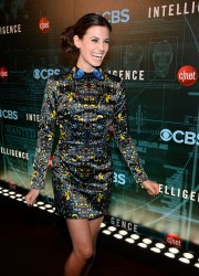 Meghan Ory - CNET's 'Intelligence' premiere party in Las Vegas 1/7/14