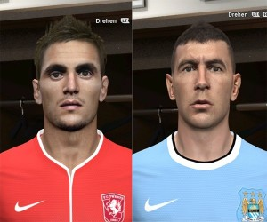 Download Tadic and Kolarov Faces by Rednik