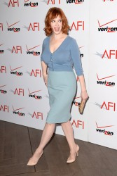 Christina Hendricks - 14th Annual AFI Awards in Beverly Hills 1/10/14