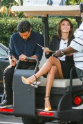 ADDS Nina Dobrev | On the Set of Extra in Universal City | January 10 | 26 pics + 96 [LEGS]