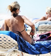Lady Victoria Hervey | Bikini Candids on the Beach in Barbados | January 9 | 21 pics