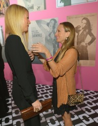 Gwyneth Paltrow - Diane Von Furstenberg's Journey Of A Dress Opening Party in LA 1/10/14