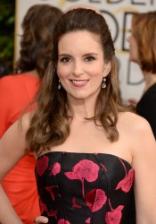 Tina Fey - 71st Annual Golden Globe Awards in Beverly Hills 1/12/14