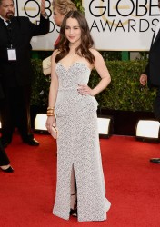 Emilia Clarke - 71st Annual Golden Globe Awards in Beverly Hills 1/12/14