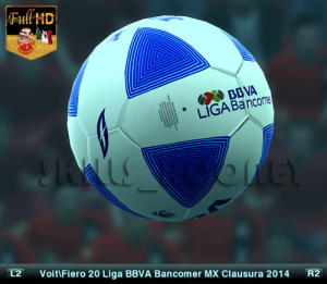 PES 2013 Voit Fiero 20 Liga BBVA Bancomer MX 2014 Full HD by SKILLS_ROONEY
