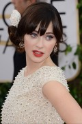 Zooey Deschanel  -  71st Annual Golden Globe Award at The Beverly Hilton Hotel   12-01-2014    39x updatet Bcd283301112238