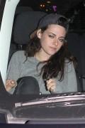 Kristen Stewart - leaving the Covell Wine Bar - 1/14/14