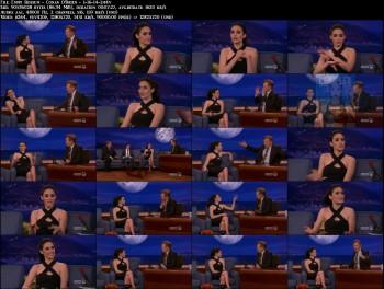 Emmy Rossum - Conan O'Brien - 1-16-14