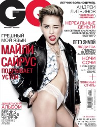 Miley Cyrus in GQ Russia - February 2014