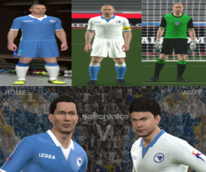 Download Bosnia and Herzegovina WC 2014 Kits by Salichinko