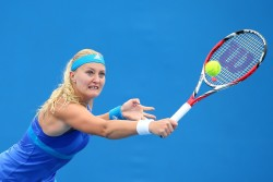 Kristina Mladenovic - 2014 Australian Open in Melbourne 1/18/14