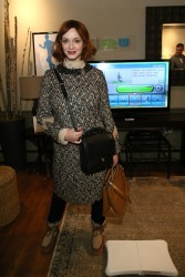 Christina Hendricks - Nintendo Chalet at Sundance 1/18/14