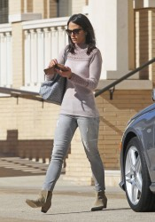 Jordana Brewster - out in Beverly Hills 1/19/14