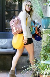 Hilary Duff - Out in LA 1/18/14