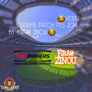 Download Stadiums Patch v1 PES 2014 by Firas Zinou