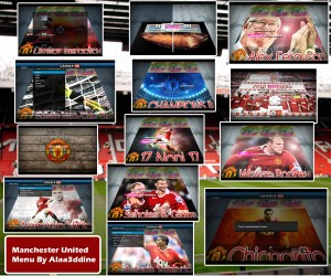 pes 2010 Manchester United Menu by beckham23-7