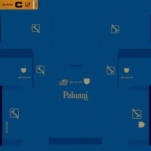 PES 2014 A.C. Chievo Verona 2014 Blue Kit by Tunevi