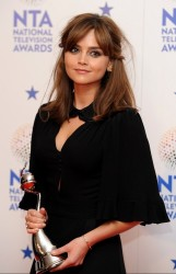 Jenna Coleman - National Television Awards in London 1/22/14