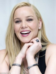 Abbie Cornish - RoboCop press conference in LA 1/22/14