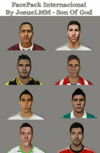 Download FIFA14 Facepack Internacional By Josue_LMM