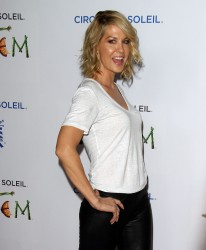 Jenna Elfman - Cirque du Soleil's Totem opening in Santa Monica 1/21/14