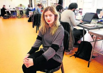 "*ADDS* Rachel Hurd-Wood - Pre-production of ""Second Origin"" - Jan. '14, Lleida, Spain - 1xLQ"