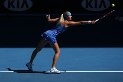 Kristina Mladenovic - 2014 Australian Open Mixed Doubles Final 1/26/14
