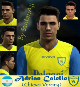 Download Adrian Calello (Chievo Verona) by santanAji