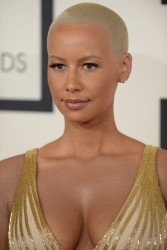 Amber Rose - 56th Annual Grammy Awards Arrivals 01-26-2014