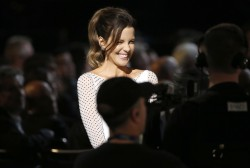Kate Beckinsale at A Grammy Salute To The Beatles in Los Angeles on January 27, 2014