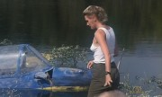 Denise Crosby - Eliminators (wet c-thru/pokies/sideboob)