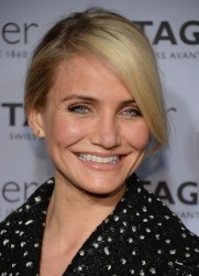 Cameron Diaz - TAG Heuer New York City Flagship Store Opening 1/28/14
